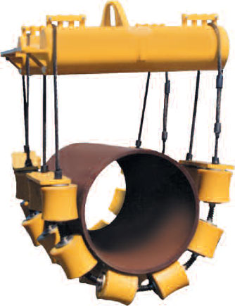 Roller Pipe Cradle